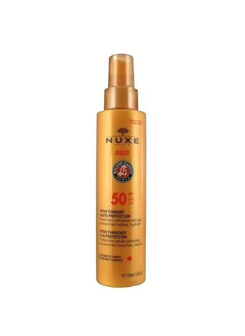 Nuxe Spray Fondant Haute Protection 50 Spf  - Koruyucu Güneş Spreyi 150 ml Renksiz